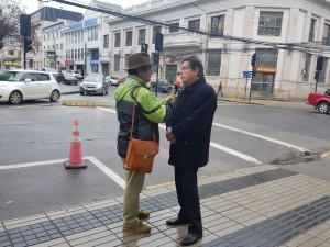Luis Riveros entrevistado por la Radio Ñuble de Chillán